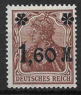 Deutsches Reich GERMANIA 154 IIa ungebraucht (INFLA)