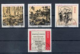 DDR 1655-1658 gestempelt (FDC)