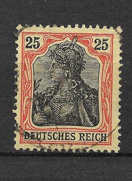 Deutsches Reich GERMANIA 88 IIb gestempelt (BPP JÄSCHKE) (2)