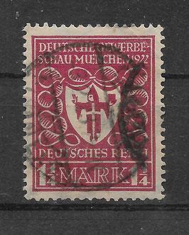 Deutsches Reich GEWERBESCHAU 199a gestempelt (BPP BAUER) (3)