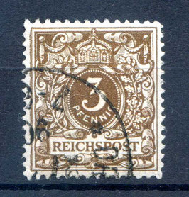 Deutsches Reich KRONE/ADLER 45a gestempelt (BPP ZENKER)