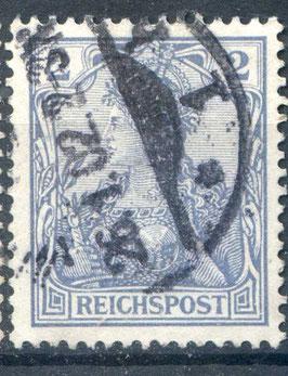 DR REICHSPOST 53 gestempelt (II)