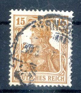 Deutsches Reich GERMANIA 100a gestempelt (BPP BAUER) (3)