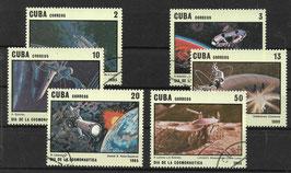 CUBA 2934-2939 gestempelt