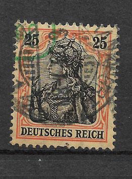 Deutsches Reich GERMANIA 88 I gestempelt (BPP JÄSCHKE)