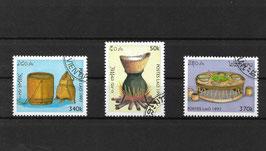 LAOS 1574-1576 gestempelt