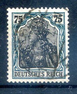 Deutsches Reich GERMANIA 104a gestempelt (BPP BAUER) (5)