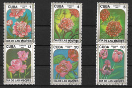 CUBA 2943-2948 gestempelt