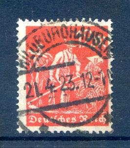 Deutsches Reich FREIMARKE ARBEITER 240 gestempelt