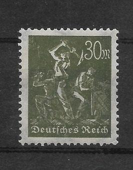 Deutsches Reich FREIMARKE ARBEITER 243a ungebraucht (BPP BAUER)