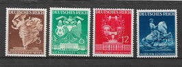 Deutsches Reich WIENER FRÜHJHARSMESSE 768-771 postfrisch