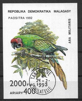 MADAGASKAR Block 209 gestempelt