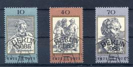 DDR 1672-1674 gestempelt