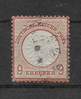 Deutsches Reich BRUSTSCHILD 27a gestempelt (BPP KRUG) (6)