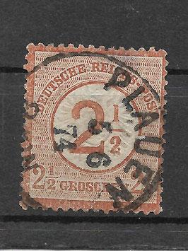 Deutsches Reich BRUSTSCHILD 29 gestempelt (BPP KRUG) (4)