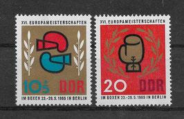 DDR 1100-1101 postfrisch