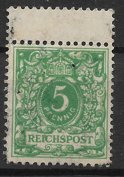 Deutsches Reich KRONE & ADLER 46c ZS gestempelt (BPP WIEGAND) (4)