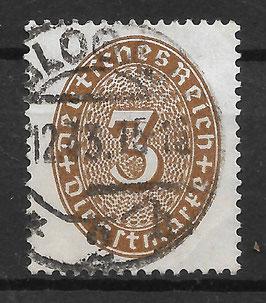 Deutsches Reich DIENST 114 X gestempelt (2)