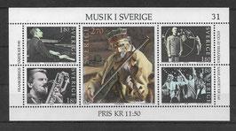 Schweden Block 11 postfrisch (2)