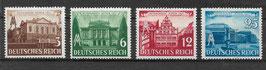 Deutsches Reich LEIPZIGER FRÜHJAHRSMESSE 764-767 ungebraucht