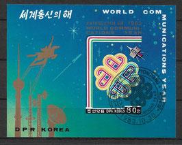 Nordkorea Block 152 gestempelt