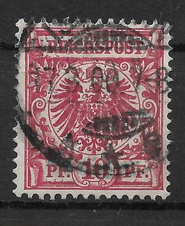 Deutsches Reich KRONE & ADLER 47db gestempelt (BPP ZENKER)