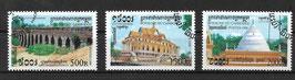 KAMBODSCHA 1927-1929 gestempelt