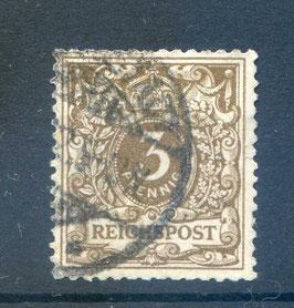 Deutsches Reich KRONE/ADLER 45a gestempelt (BPP JÄSCKHE) (IV)