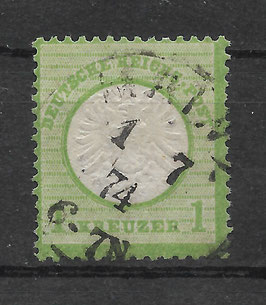 Deutsches Reich BRUSTSCHILD 23a gestempelt (BPP KRUG) (8)