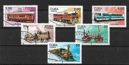 CUBA 3221-3226 gestempelt