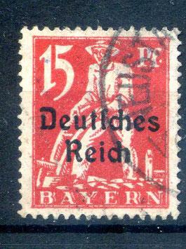 Deutsches Reich  FREIMARKE 121 gestempelt