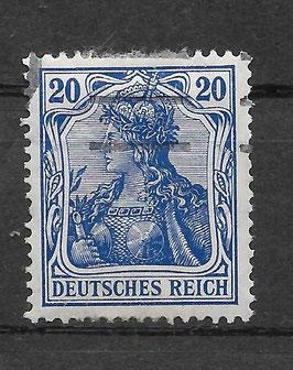 Deutsches Reich GERMANIA 87 Ia gestempelt (BPP JÄSCHKE) (III)
