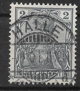 Deutsches Reich REICHSPOST 53 gestempelt (VIII)