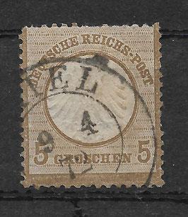 Deutsches Reich BRUSTSCHILD 6 gestempelt (BPP KRUG) (2)