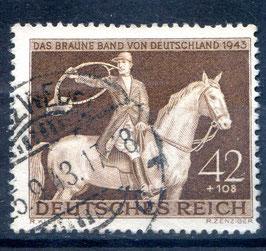 DR DAS BRAUNE BAND von DEUTSCHLAND 854 gestempelt