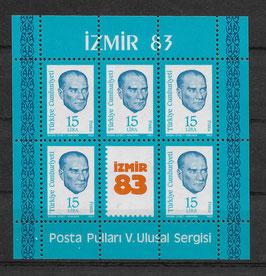 Türkei Block 23 postfrisch (2)