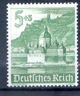 DR WINTERHILFSWERK BAUWERKE 753 postfrisch