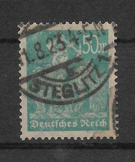 Deutsches Reich FREIMARKE ARBEITER 245 gestempelt (BPP WINKLER)