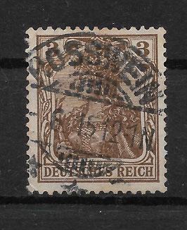 Deutsches Reich GERMANIA 84 I gestempelt (BPP JÄSCHKE) (IV)
