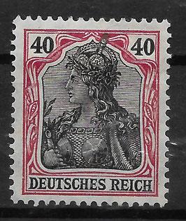 Deutsches Reich GERMANIA 90 IIb ungebraucht (BPP JÄSCHKE) (4)