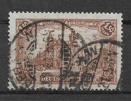 Deutsches Reich GERMANIA 114c gestempelt (INFLA) (2)