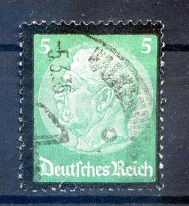 DR FREIMARKE TOD von PAUL von HINDENBURG 549 gestempelt
