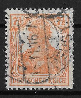 Deutsches Reich GERMANIA 99a gestempelt (INFLA)