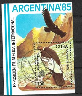 CUBA Block 90 gestempelt