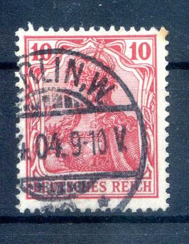 Deutsches Reich GERMANIA o. WZ 71 gestempelt (IV)