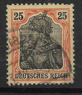Deutsches Reich GERMANIA o. WZ 73 gestempelt (2)