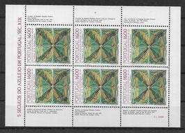 Portugal Kleinbogen 1644 postfrisch