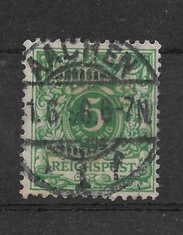 Deutsches Reich KRONE & ADLER 46c gestempelt (BPP WIEGAND) (14)