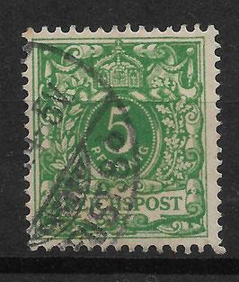 Deutsches Reich KRONE/ADLER 46c gestempelt (BPP JÄSCHKE) (IV)