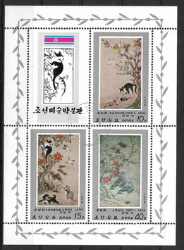 Nordkorea Kleinbogen 1802-1804 gestempelt
